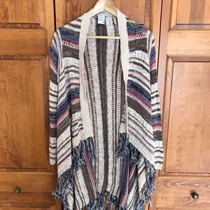 American Rag oversized boho sweater